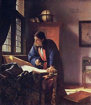 300px-J._VERMEER_-_El_geógrafo_(Museo_Städel,_Fráncfort_del_Meno,_1669)